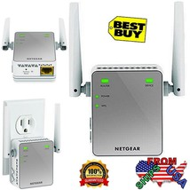 Wi-Fi Range Extender, Extend WiFi up to 300Mbps, Works with any standard... - $43.90