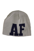 US Air Force Adult Unisex Gray/Navy AF Beanie, One Size - $9.89