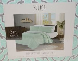 Kiki Collection BCSK25250 Three Piece Reversible Quilt Set King Size image 3