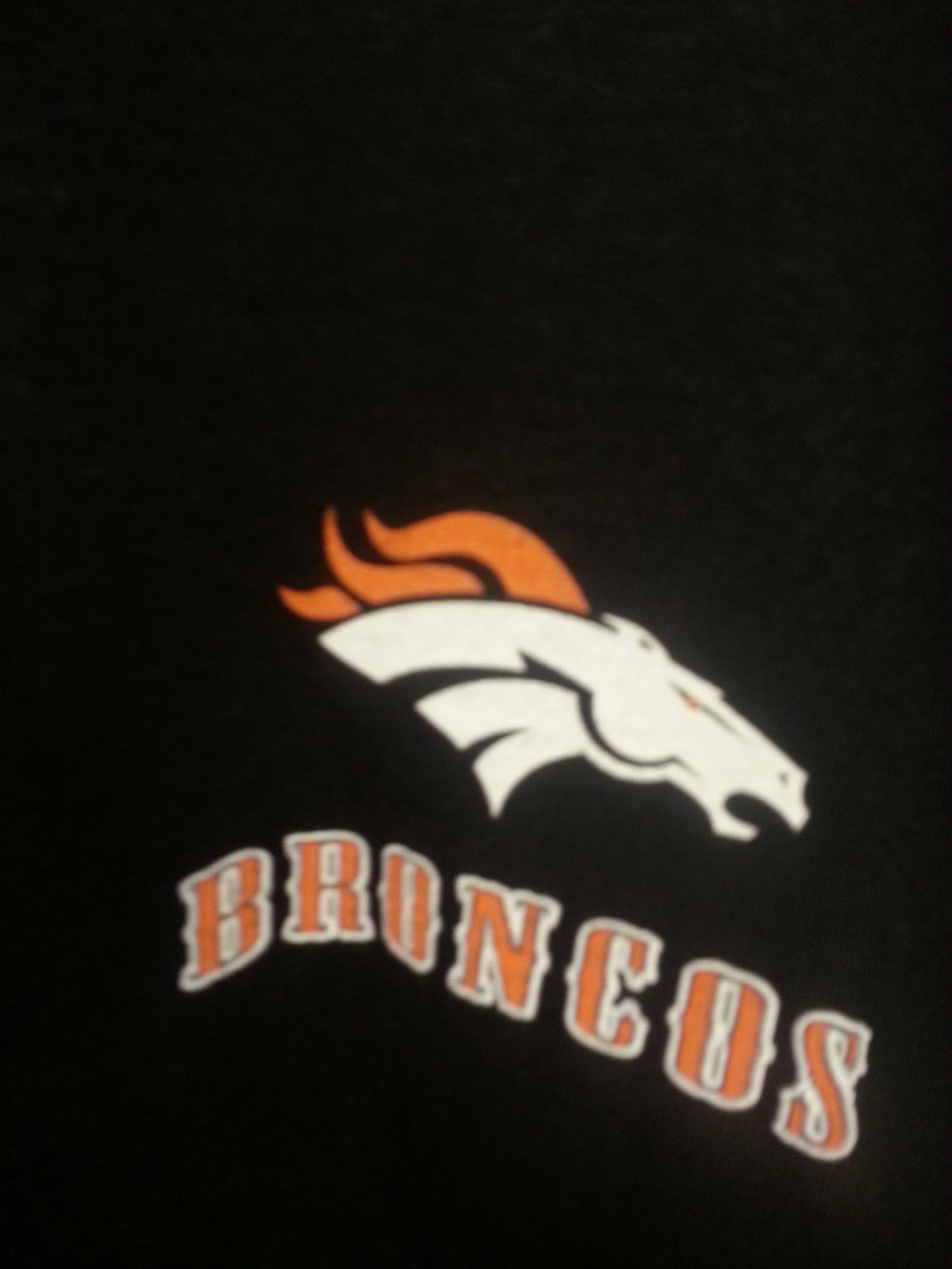 DENVER BRONCOS  New with tags RUNNING BACK  T-Shirt BLACK shirt NFL image 3