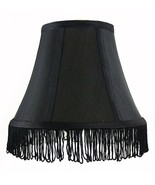 "Urbanest Silk Bell Lamp Shade with Fringe, 5x9x7"" - $15.83"