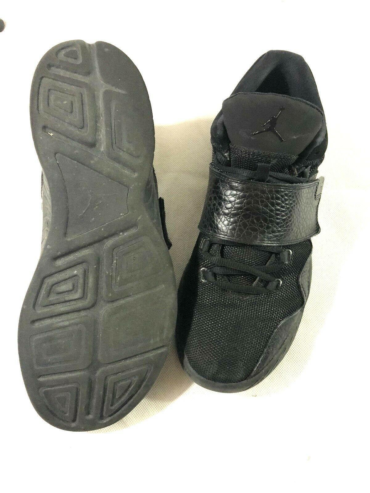 Nike Air Jordans 854557-001 Black 12 image 8