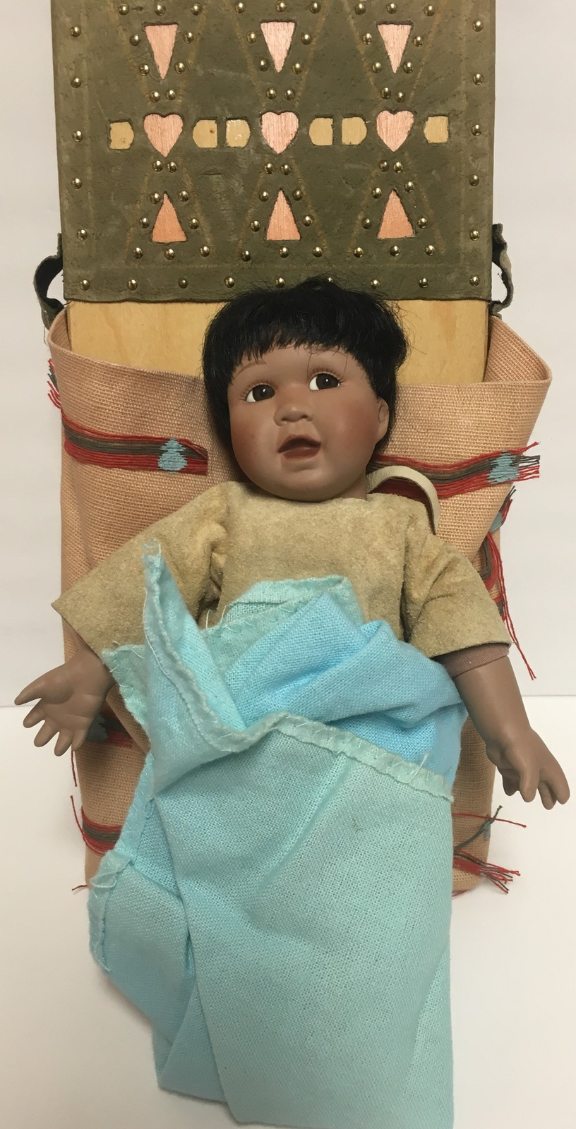 Cloud Chaser Native American Doll Papoose Ashton-Drake Galleries image 5