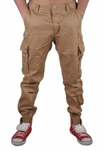 Staple Cachi Cargo Joggers Pantaloni Jeans 1509B2905 Nwt image 1