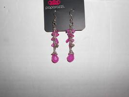 Paparazzi Earrings (New) Swing Low Pink - $8.58