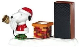 Department 56 Peanuts Snoopy's GIVE LOUDLY - $32.50