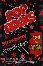 POP ROCKS STRAWBERRY, PACK OF 12 POP ROCKS - $16.52