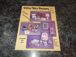 Glitzy Bitz Designs Home Accents Book IV by Craft Shop Design Team - $2.99
