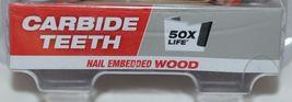 Milwaukee 49569255 Big Hawg Carbide Teeth Nail Embedded Wood image 3