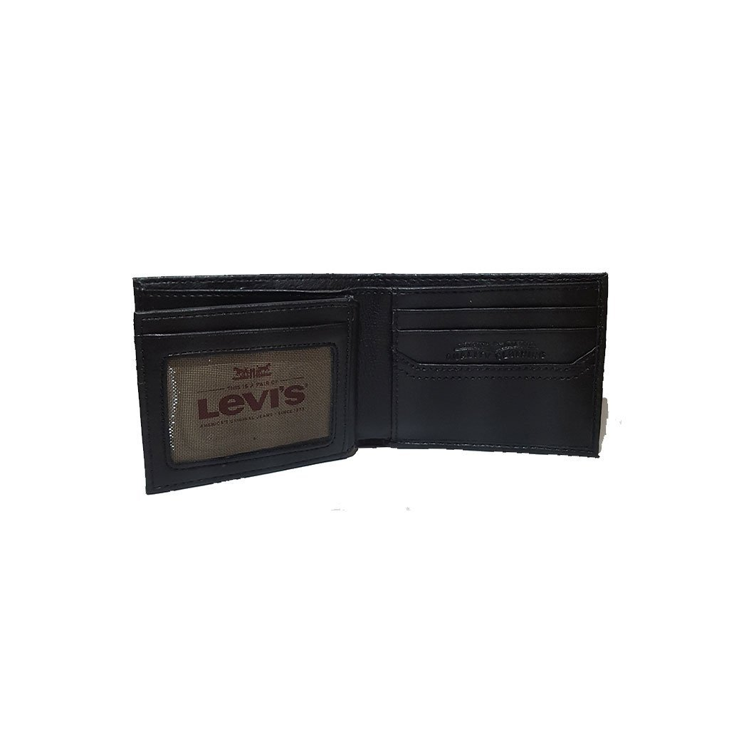 Levi's® 31LV1344 men's extra capacity slimfold wallet black brown one size image 4