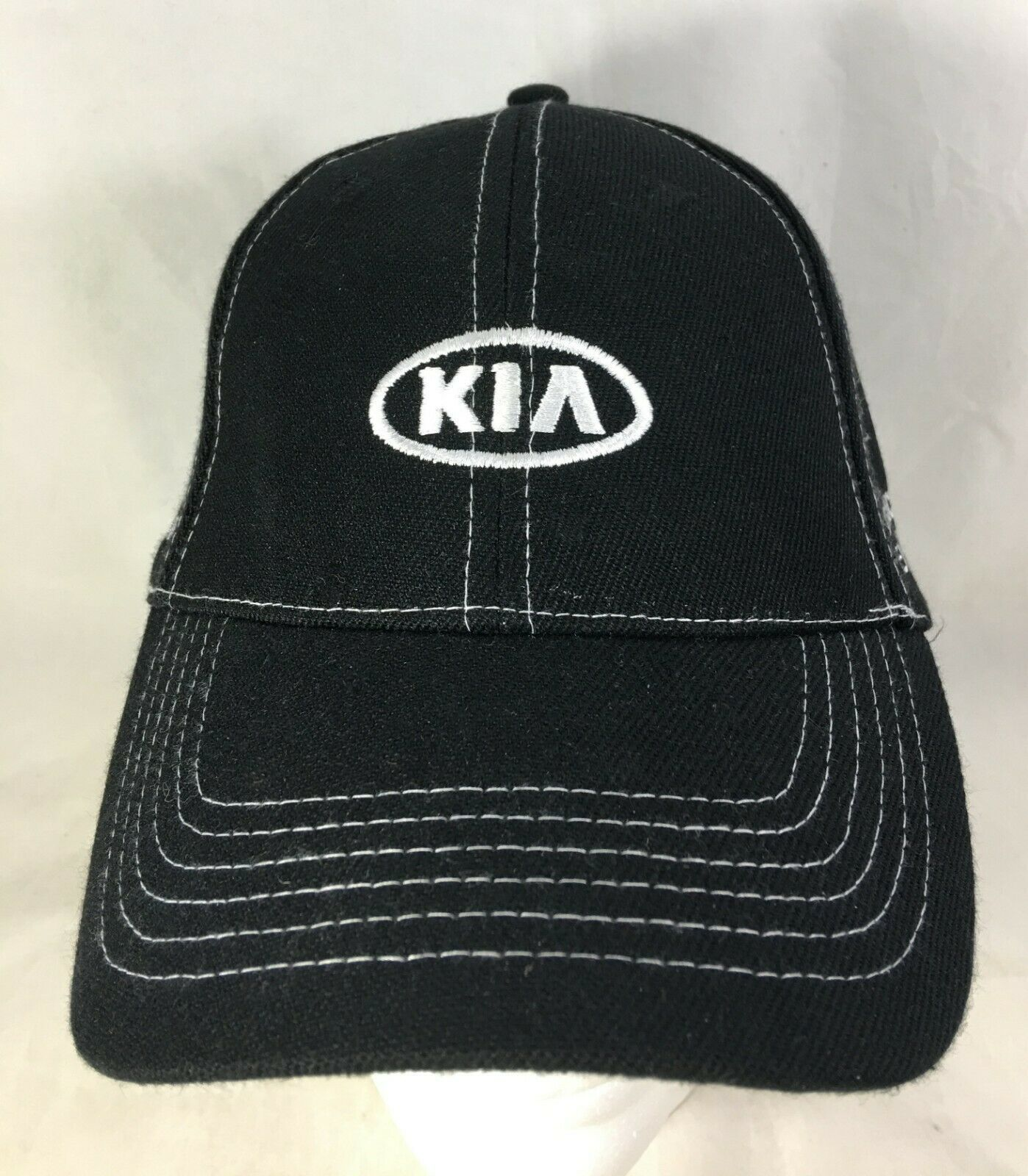 KIA Cap Baseball Hat Black Adjustable Experience the New Standard NEW