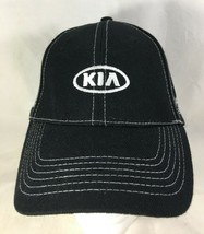 KIA Cap Baseball Hat Black Adjustable Experience the New Standard NEW - $25.74