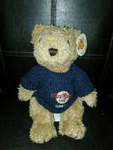 "HARD ROCK Cafe London [11"" PLUSH BEAR with sweater] - $12.82"
