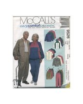 McCall's Pattern 9526 Unisex Jacket, Shirt and Pants Size (38,40) - $12.59