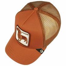 Goorin Bros Snapback Mesh Cap Rust Brown Wiener Dawg Dog Trucker Hat 101-0622 image 3