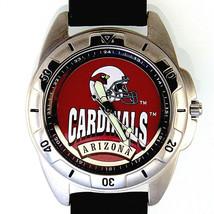 Arizona Cardinals NFL Fossil New Unworn Mans Rare Vintage 1995 Leather Watch $79 - $78.06