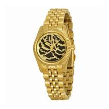 Michael Kors Women's MK3300 - Petite Lexington Gold/Black Watch - $93.30