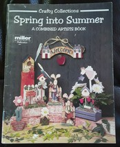 Spring Into Summer; A Combined Artists Book  by Crafty Collections - $8.55