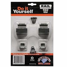 Carolina Stair Supply Baluster Zip Clip, 2 Base Shoes, 1/2-Inch Opening,... - $18.20