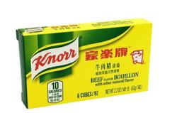 Knorr Beef flavor Bouillon 6 Cubes 2.2 oz - $7.91