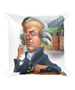 Simply Charly Adam Smith Square Pillow - $34.30