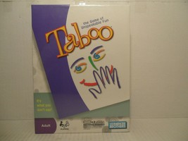 Taboo Adult The Game of Unspeakable Fun 2009 Version Brand New Sealed in... - $14.84