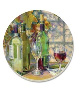 Set-of-4 Counter Art Absorbent Stoneware Coasters 14174 - Vintage Wine - $19.89