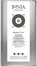 IONIA exceptional virgin olive oil PDO KALAMATA 4lt distinctive bitter t... - $98.80