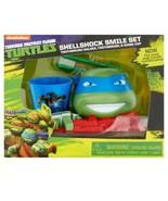 Teenage Mutant Ninja Turtles Shellshock Smile SetLeonardo Toothbrush Ho... - $17.81
