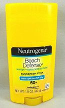 Neutrogena Beach Defense Oil-Free Body Sunscreen Stick - SPF 50 1.5oz Fr... - $9.99