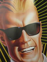 Max Headroom Coca Cola Coke Vintage TV Tie-In Book Covering Poster 1986  - $33.79