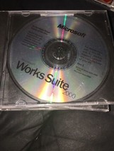 Microsoft Works Suite 2000 Complete CD set - $31.12
