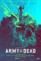 """Army of the Dead Poster Zack Snyder Movie Art Film Print 24x36 27x40"""" 32x48"""" #15 - £7.89 GBP+"""
