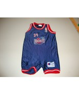 Vintage NBA Houston Rockets Hakeem Olajuwon Baby Infant Champion Jersey ... - $148.49