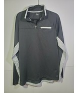 Fila Men's Size Large Black Pullover Zip Up Top - $25.63