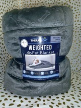 THERAPEDIC Weighted PET  Blanket 3 pounds GREY -   --FREE SHIPPING image 2