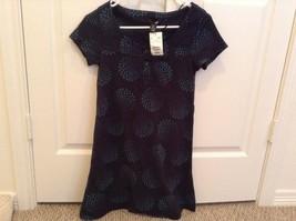 H&M Women's Cotton Blue Poka-Dot Dress Size US 4/EUROPE 34 - $4.99