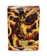 Dragon Shield Japanese Size Art Syber 60ct Card Protector Sleeves ATM12603 - $10.99