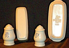 Pfaltzgraff Salt, Pepper and Butter Container 028 AA20-2131 Vintage image 3