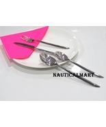 Al-Nurayn Stainless Steel Silverware Cutlery Set Of 4 Pieces By Nautical... - $99.00