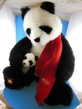 """Large 19"""" Wish Bear Panda 2001 Smithsonian Natl Zoological Park  Gund - $39.59"""