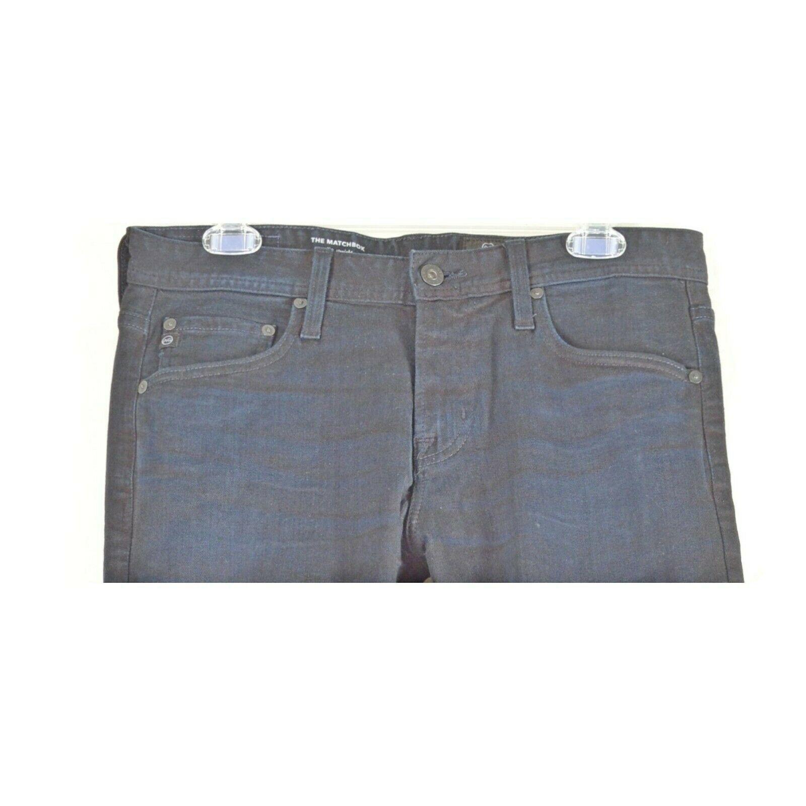 AG Adriano Goldschmied jeans 30 x 34 men Matchbox dark Slim Straight tall unique image 4