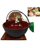 Ebros Japanese Cast Iron Cooking Sukiyaki Shabu Shabu Nabe Ramen Persona... - $54.44