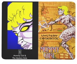 Mummy Girl Mystery Casebook Pocket Journal - 48 Blank Pages - Made in USA - $13.95