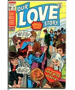 Our Love Story #10 1971-Marvel-romance stories-Gene Colan art-G - $22.70