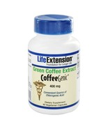 Life Extension CoffeeGenic Green Coffee Extract 400 mg., 90 Vegetarian Capsules - $24.00