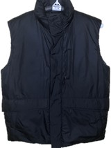 Banana Republic Mens 5 Pocket Black Quilted Down Puffer Sleeveless Vest ... - $49.99