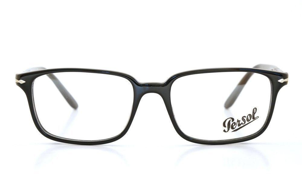 c181135b10 Persol Po 3013-V 95 Black Eyeglasses 53mm - and 50 similar items