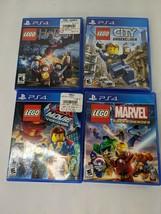 Lego Hobbit City Undercover Movie Marvel Super Heroes PS4 - $49.95