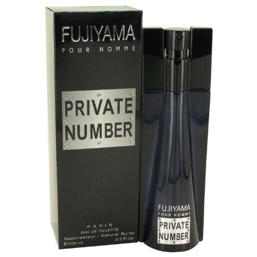Fujiyama Private Number by Succes De Paris Eau De Toilette Spray 3.3 oz - $24.07